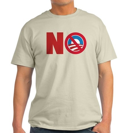Anti Obama 2012 Light T-Shirt