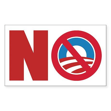 Anti Obama 2012 Sticker (Rectangle)