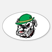 Irish Bulldog Decal