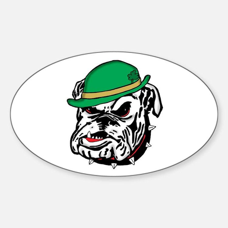Irish Bulldog Decal
