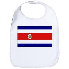Costa Rican Flag Bib