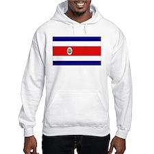 Costa Rican Flag Hoodie