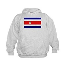 Costa Rican Flag Hoody