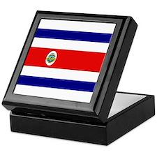 Costa Rican Flag Keepsake Box