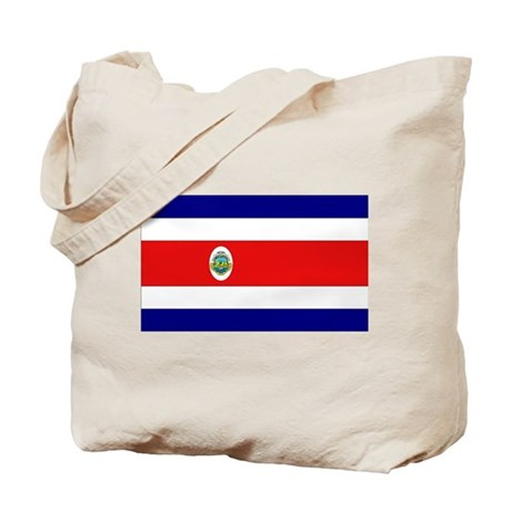 Costa Rican Flag Tote Bag