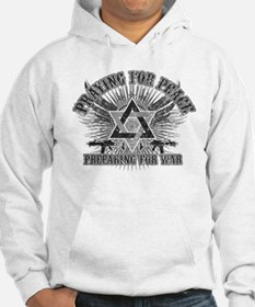 Pray for Peace..Prepare for W Hoodie Sweatshirt