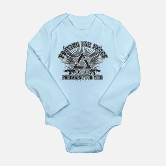 Pray for Peace..Prepare for W Long Sleeve Infant B