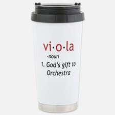 Definition of a Viola Stainless Steel Travel Mug