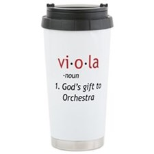 Definition of a Viola Travel Mug