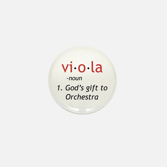 Definition of a Viola Mini Button