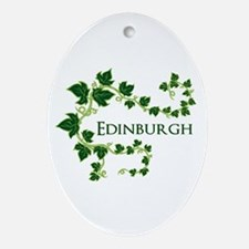 Edinburgh Ornament (Oval)