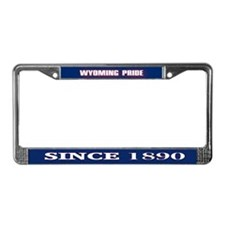 Wyoming Pride License Plate Frame