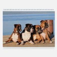 Boxer Wall Calendar