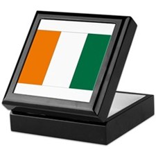 Côte d'Ivoire Flag Keepsake Box