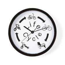 Recumbent Trike Wall Clock