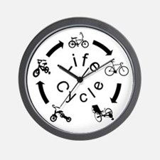 Recumbent Trike Wall Clock