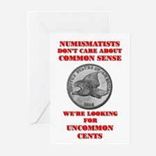 Not Common Sense, Uncommon Ce Greeting Cards (Pk o