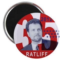 RATLIFF FOR PRESIDENT Magnet
