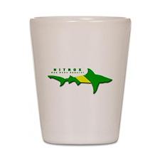 Nitrox Shark Shot Glass