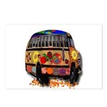 Ladybug bus Postcards (Package of 8)
