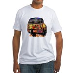 Ladybug bus Fitted T-Shirt