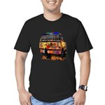 Ladybug bus Men's Fitted T-Shirt (dark)