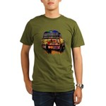 Ladybug bus Organic Men's T-Shirt (dark)