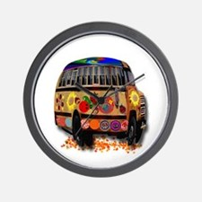 Ladybug bus Wall Clock
