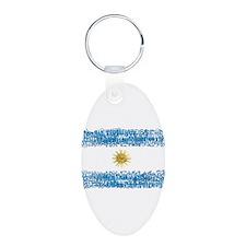 Textual Argentina Keychains