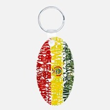 Textual Bolivia Keychains