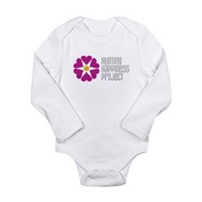 Hunting Happiness Project Long Sleeve Infant Bodys