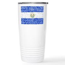 Textual El Salvador Travel Mug