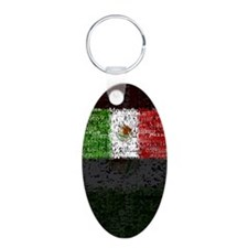 Textual Mexico Keychains