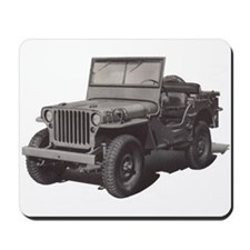 Army Jeep Mousepad