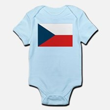 Flag of Czech Republic Infant Creeper