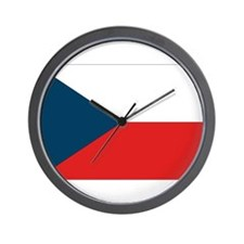 Flag of Czech Republic Wall Clock