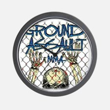 Wrestling pin Wall Clock