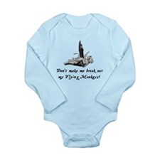 My Flying Monkeys Long Sleeve Infant Bodysuit