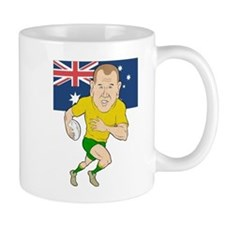 Rugby Player Australia Mug