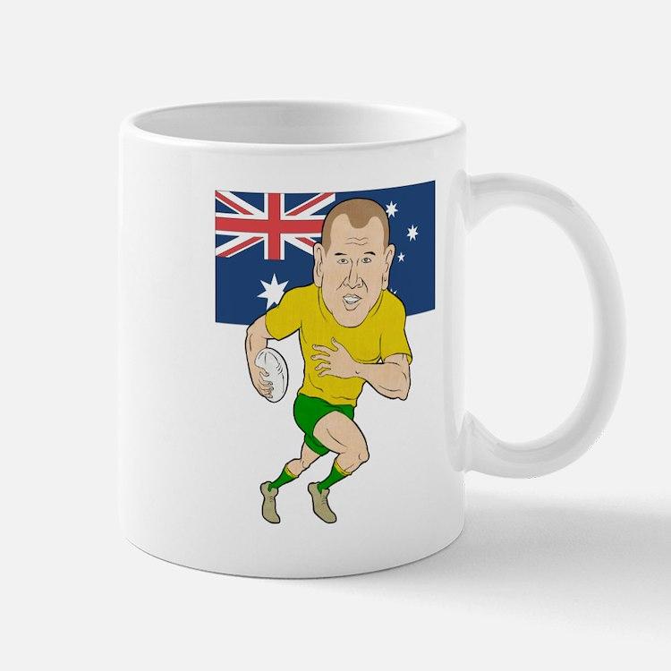 Rugby Player Australia Mug
