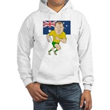 Rugby Player Australia Jumper Hoodie