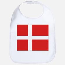 Denmark (Dannebrog) Flag Bib