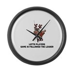 LP are Followers Large Wall Clock