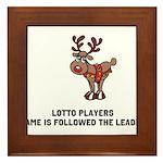 LP are Followers Framed Tile