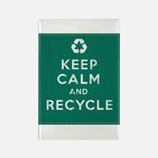Keep Calm and Recycle Rectangle Magnet (100 pack)