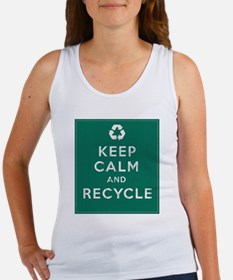 Keep Calm and Recycle Women's Tank Top
