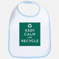 Keep Calm and Recycle Bib