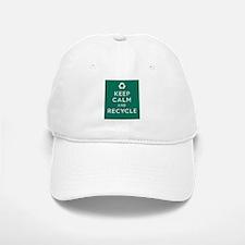 Keep Calm and Recycle Baseball Baseball Cap