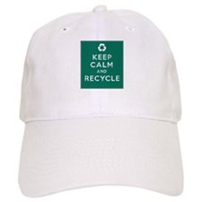 Keep Calm and Recycle Baseball Cap