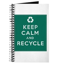 Keep Calm and Recycle Journal